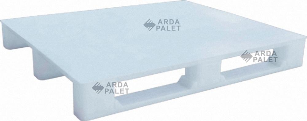 Mono Blok Plastik Palet Beyaz