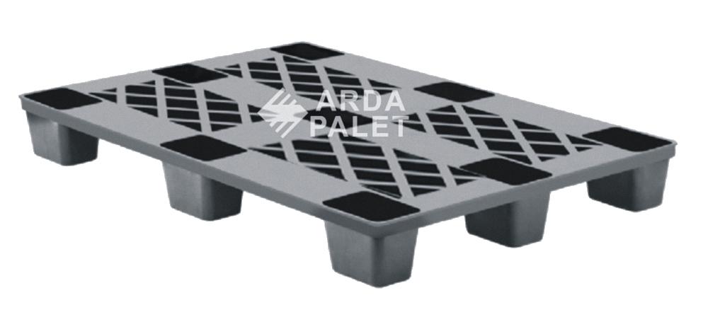 Mono Blok Plastik Palet Siyah