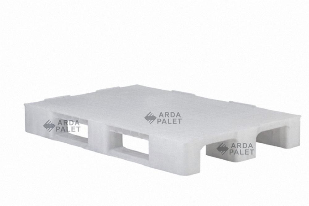 Hijyenik Beyaz Plastik Palet