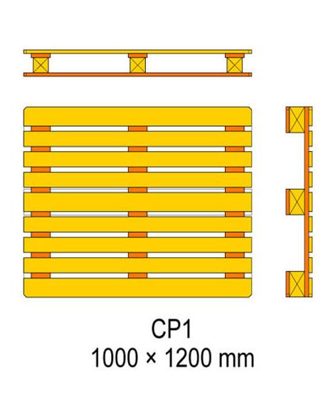 cp1 palet olculeri