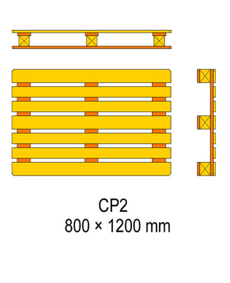 cp2 palet ölçüleri