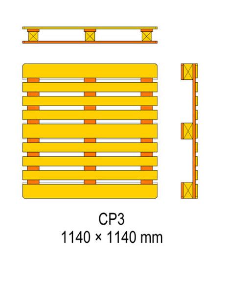 cp3 palet ölçüleri