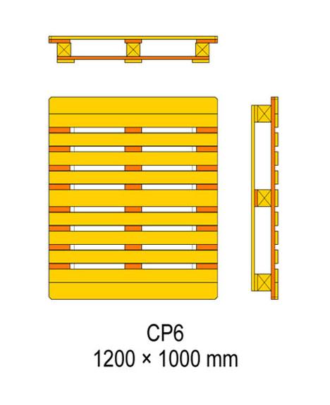 cp6 palet ölçüleri