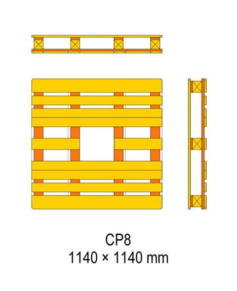 cp8 palet ölçüleri