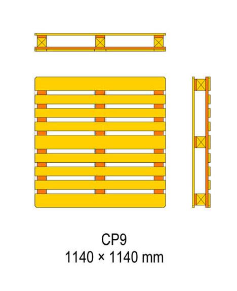 cp9 palet ölçüleri